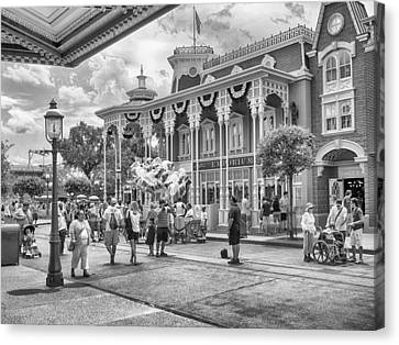 Canvas Print featuring the photograph The Emporium by Howard Salmon