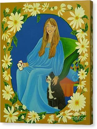 The Empress Canvas Print by Lori Ziemba