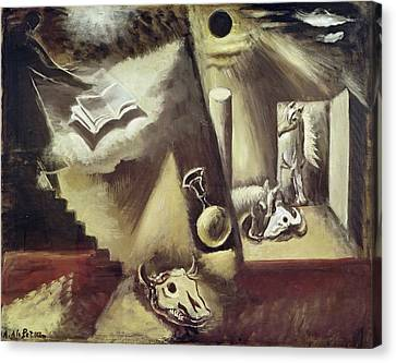 The End Of The World, C.1929 Oil On Canvas Canvas Print