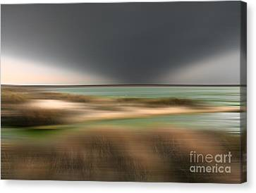 The End Of Time - A Tranquil Moments Landscape Canvas Print by Dan Carmichael