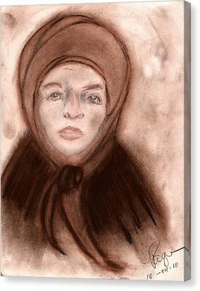 The Endurance Of Marta Canvas Print