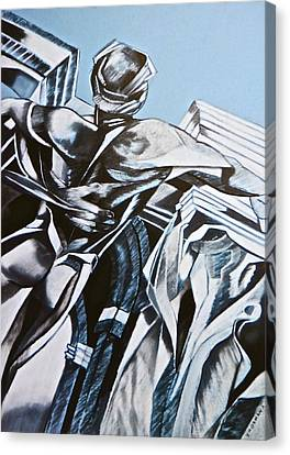 Guardian Angel Canvas Print - The Enigma by Susan Robinson