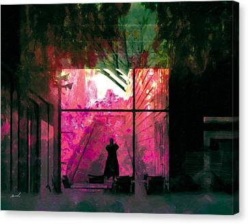 Canvas Print featuring the photograph The Entanglement 8 by The Art of Marsha Charlebois