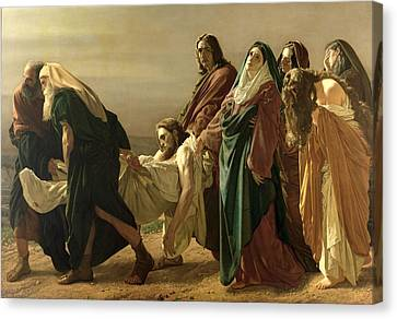 The Entombment, 1883 Canvas Print