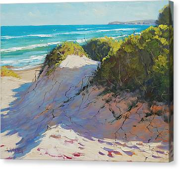 The Entrance Dunes Canvas Print by Graham Gercken