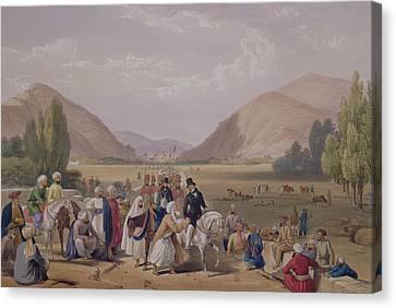 The Entrance Into Caubul Canvas Print by James Atkinson