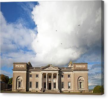 Court House Canvas Print - The Entrance To Emo Court Designed by Panoramic Images