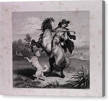 The Envious Horse Canvas Print