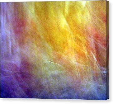 The Escape From Heaven Canvas Print by Munir Alawi