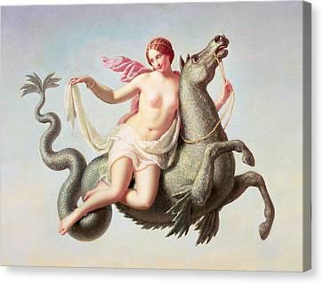 The Escape Of Galatea Canvas Print by Michelangelo Maestri