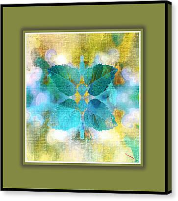The Essence Of Love Canvas Print by SM Shahrokni