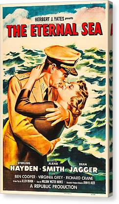 The Eternal Sea, Us Poster, From Left Canvas Print by Everett