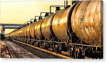The Ethanol Train Canvas Print