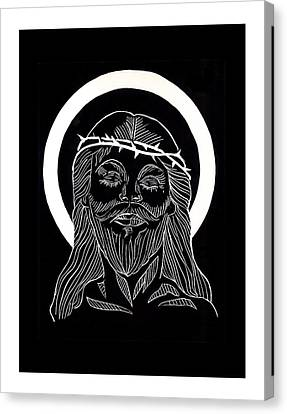 The Eucharist Canvas Print by Peter Melonas