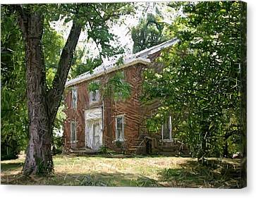 The Ewing Female Institute - Perryville Ky Canvas Print by Thia Stover