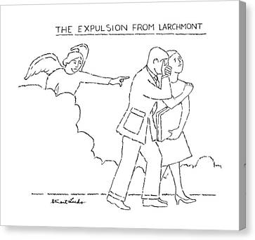 The Expulsion From Larchmont Canvas Print