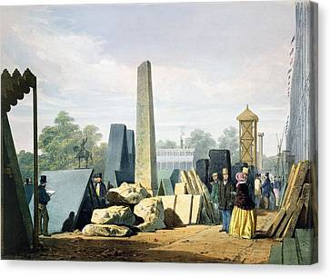 The Exterior, From Dickinsons Canvas Print by English School