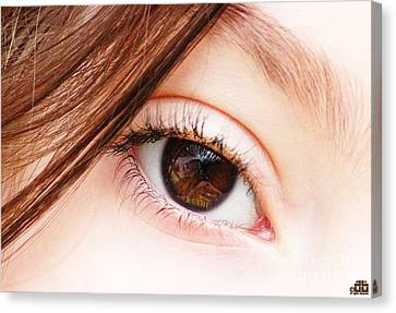 The Eye Canvas Print by Dheeraj B