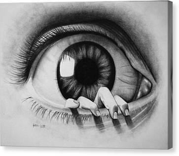 The Eye Canvas Print by Katrina Botell