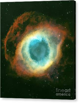 The Eye Canvas Print by Odon Czintos