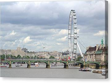 The Eye Of London Canvas Print by Keith Armstrong