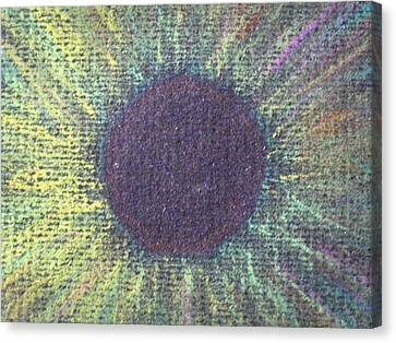 The Eye Of The One Detail Canvas Print