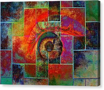 The Eye Canvas Print by Ron Harpham
