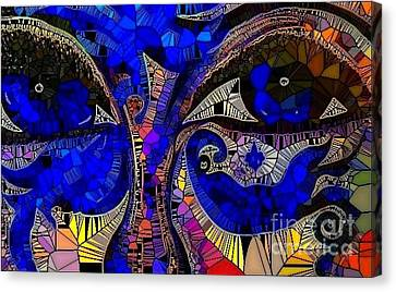 The Eyes Have It. 1 Mosaic Canvas Print
