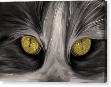 The Eyes Have It Canvas Print by Angela A Stanton