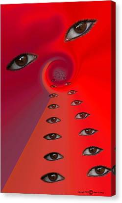 The Eyes Have It Canvas Print by Denis Lemay