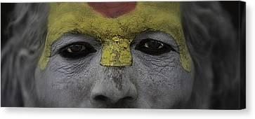 The Eyes Of A Holyman Canvas Print by David Longstreath