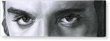 The Eyes Of The King Canvas Print