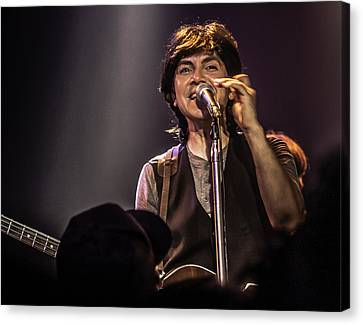 The Fab Four - Ardy Sarraf As Paul Mccartney Canvas Print by Salvador Gomez