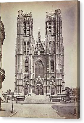 The Facade Of St Michaels And St Canvas Print by Artokoloro
