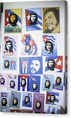 The Face Of Cuba Canvas Print by James Brunker