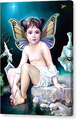 The Faerie Princess Canvas Print by Patrick Anthony Pierson