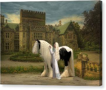 The Fairest Of Them All Canvas Print by Fran J Scott