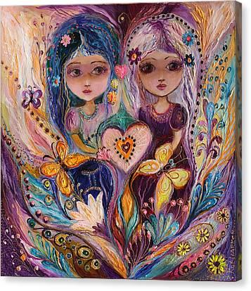 The Fairies Of Zodiac Series - Gemini Canvas Print