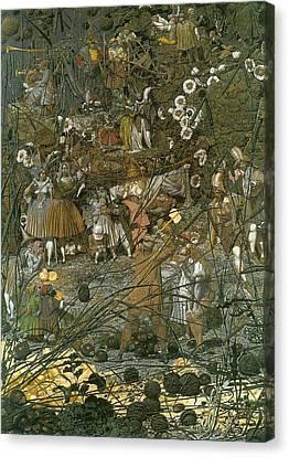 The Fairy Feller Master Stroke Canvas Print by Richard Dadd