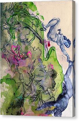 The Fall Canvas Print by Sarah Wathen