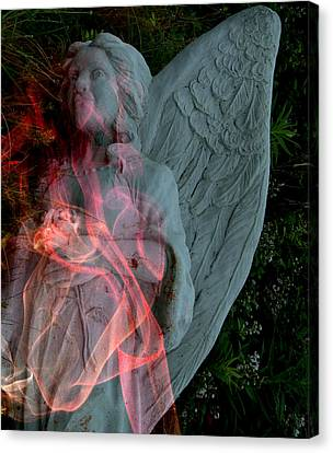The Fallen Angel Canvas Print by Irma BACKELANT GALLERIES