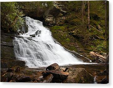 The Falls At Deans Ravine Canvas Print