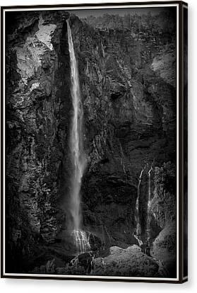 The Falls Canvas Print by David Kovac