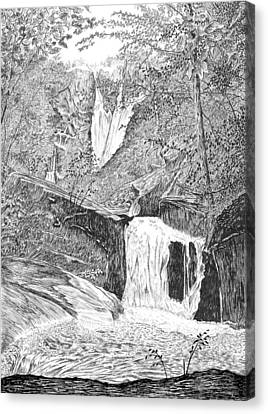 The Falls II Canvas Print
