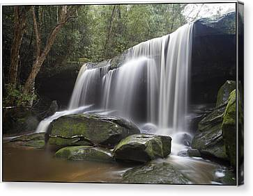 The Falls Canvas Print by Steve Caldwell