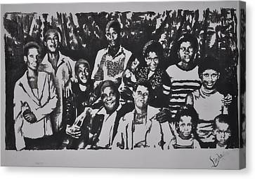 The Family Canvas Print