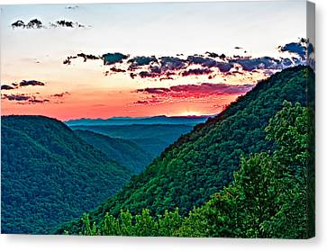 The Far Hills 2 Canvas Print