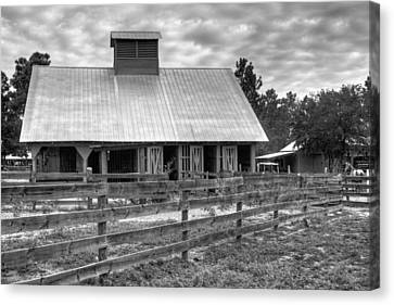 Canvas Print featuring the photograph The Farm by Dawn Currie