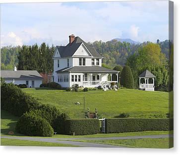 The Farm House Canvas Print by Mike McGlothlen