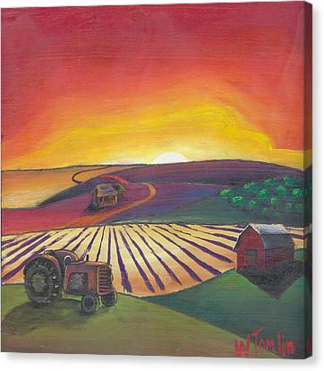 'the Farm' Canvas Print